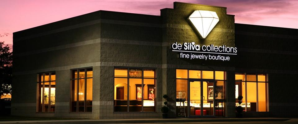 Outside Store - de Silva collections homepage banner